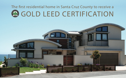 Gold LEED Beach House