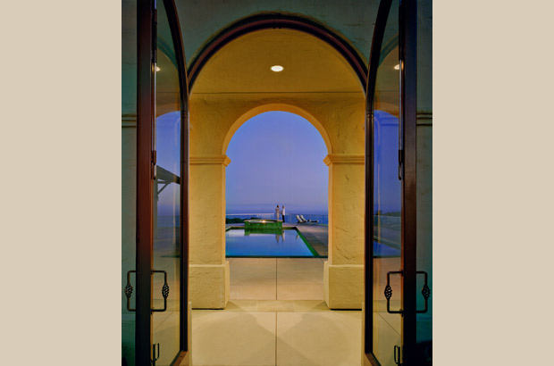 Spanish Ranch | Doorway to Pool