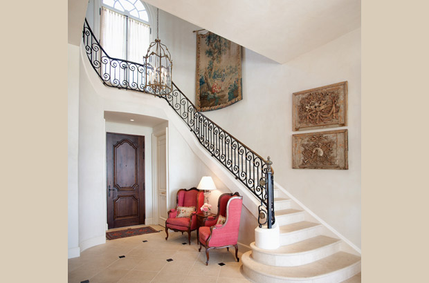 French Country Estate | Stairway