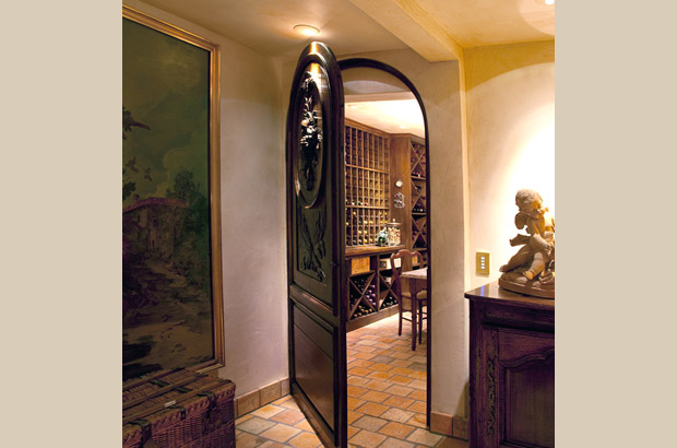 French Country Estate | Wine Cellar